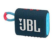 Enceinte Bluetooth JBL  Go 3 Bleu et Rose