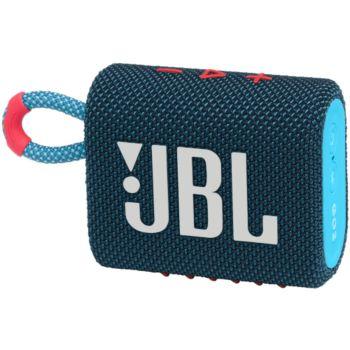 JBL Go 3 Bleu et Rose