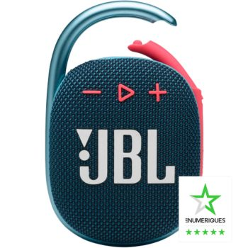 JBL Clip 4 Bleu et Rose