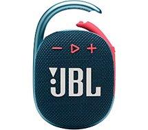 Enceinte Bluetooth JBL  Clip 4 Bleu et Rose