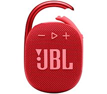 Enceinte Bluetooth JBL  Clip 4 Rouge