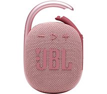 Enceinte Bluetooth JBL  Clip 4 Rose