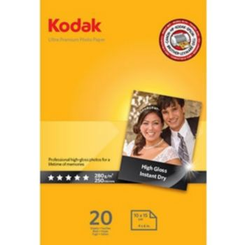 Kodak x20 High Gloss Ultra Pre 280g 10x15