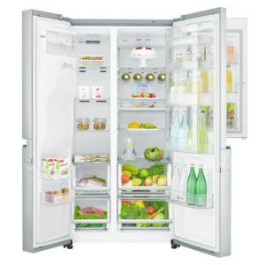 R frig rateur am ricain location r frig rateur am ricain lg gss6676sc - Refrigerateur glacon eau fraiche ...
