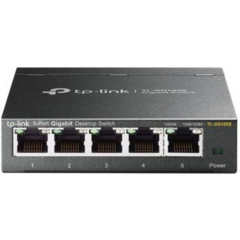 Tp-Link TL-SG105S 5 ports 10 / 100 / 1000Mbps