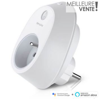 Tp-Link HS100 Blanc Prise Wi-Fi + iOS Android