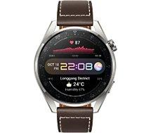 Montre connectée Huawei  Watch 3 Pro Classic Marron