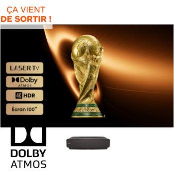 Hisense 100L5F-B12 Laser TV + écran