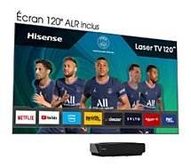 Vidéoprojecteur home cinéma Hisense  120L5F-A12 Laser TV + écran