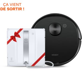 Ecovacs Pack T8 Aivi + Lave vitres Winbot W880