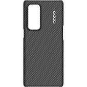 Coque Oppo Find X3 Neo Kevlar noir