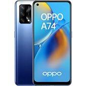 Smartphone Oppo A74 Bleu 4G