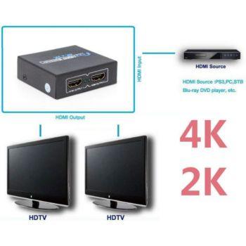 TBS TBS®2212 Répartiteur Splitter HDMI 1x2 1