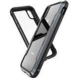Coque Xdoria  iPhone Xr Defense Shield noir