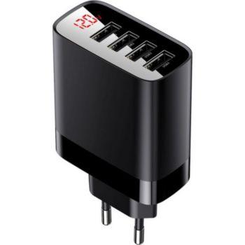 Baseus 4 USB à affichage LED