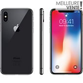 Smartphone Apple iPhone X 64Go Gris sidéral