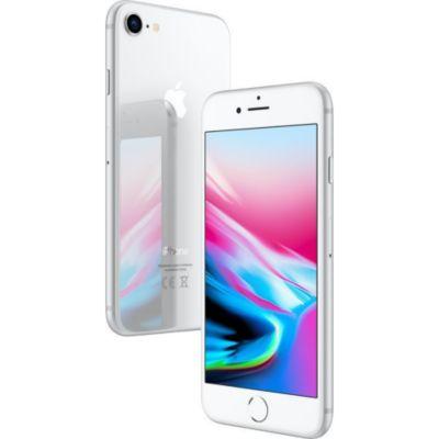Location Apple - iPhone reconditionné iPhone 8 64 Go Argent Grade A+