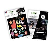 Stickers Rainette  Réfléchissant Super-héros couleur