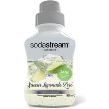 Sodastream Limonade Zéro 500ml