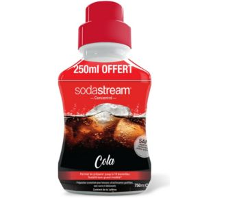Sodastream COLA 500 ml + 50% gratuit
