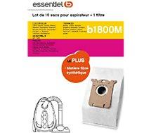 Sac aspirateur Essentielb  B1800M MEGA PACK