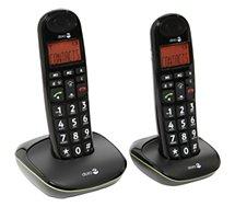 Téléphone sans fil Doro  Phone Easy 100W duo Noir