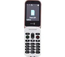 Téléphone portable Doro  6060 Rouge / Blanc