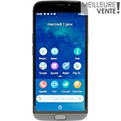 Smartphone Doro 8050 Plus Gris+Protection+Socle charge