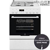 Cuisinière mixte Electrolux EKM66901OW