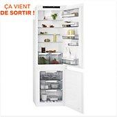 Réfrigérateur 2 portes encastrable AEG SCE818F6TS