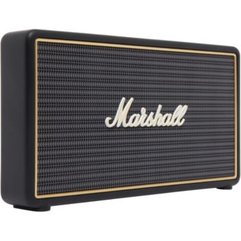 marshall stockwell noir enceinte portable boulanger. Black Bedroom Furniture Sets. Home Design Ideas