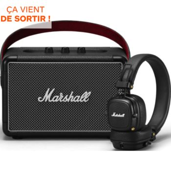 Marshall Kilburn II + Casque Major III BT