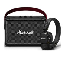 Enceinte Bluetooth Marshall Kilburn II + Casque Major III BT