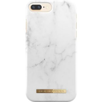 Ideal Of Sweden iPhone 6/7/8 Plus Marbre blanc