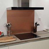 Crédence Alucouleur Cuivre_Brosse-35cmxL70cm
