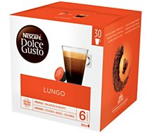 Dosettes exclusives Nestle  DOLCE GUSTO LUNGO (30 Capsules)