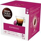 Dosettes exclusives Nestle DOLCE GUSTO ESPRESSO (30 Capsules)