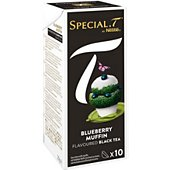 Capsules Nestle Special.T Thé Noir Blueberry Muffin x10