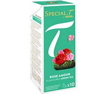 Capsules Nestle  Special.T Thé vert Rose Amour x10