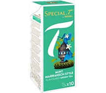 Capsules Nestle Special.T Thé Vert Mint Marrakech Style