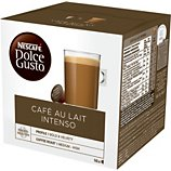 Dosettes exclusives Nestle  DOLCE GUSTO CAFÉ AU LAIT INTENSO