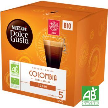 Nestle Nescafé Lungo Colombie Bio Dolce Gusto