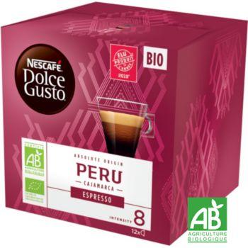 Nestle Nescafé Espresso Perou Bio Dolce Gusto