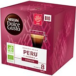 Capsules Nestle  Nescafé Espresso Perou Bio Dolce Gusto