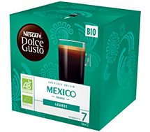 Dosettes exclusives Nestle  DOLCE GUSTO GRANDE MEXICO BIO