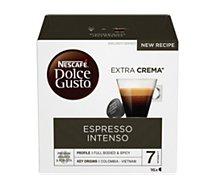 Capsules Nestle  Nescafé Espresso Intenso Dolce Gusto