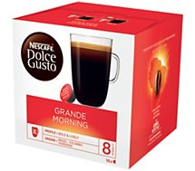 Dosettes exclusives Nestle  DOLCE GUSTO GRANDE MORNING