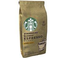 Café en grain Nestle  STARBUCKS GRAINS BLONDE ESPRESSO ROAST