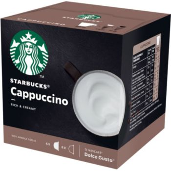 Nestle STARBUCKS BY DOLCE GUSTO CAPPUCCINO