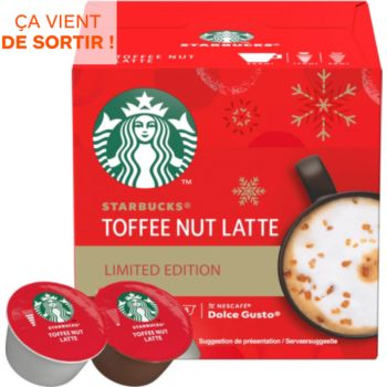 Nestle STARBUCKS BY DOLCE GUSTO TOFFEE LATTE